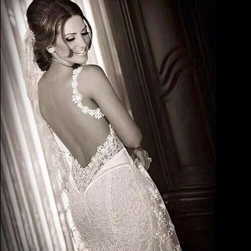 BARE BACK AND LACE