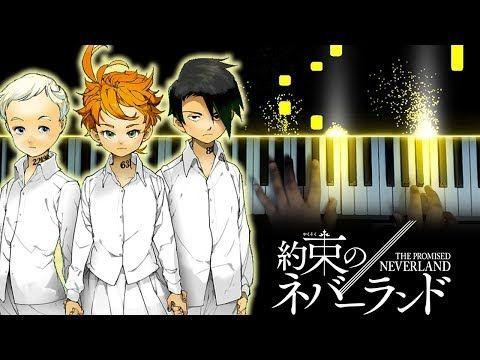 Yakusoku No Neverland Op Touch Off Uverworld Piano Youtube Neverland Piano Youtube Anime