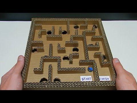 Como Fazer Um Jogo De Labirinto Em Casa Youtube Como Fazer Um Jogo Jogo Labirinto Jogo Criativo