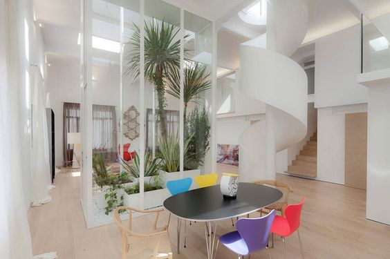 Modern Multi-Level Apartment Loft in Italy by BoA Studio Architetti