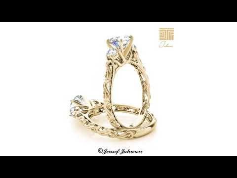 أجمل خواتم و دبل الماس 2019 Youtube Engagement Rings Gold Jewelry