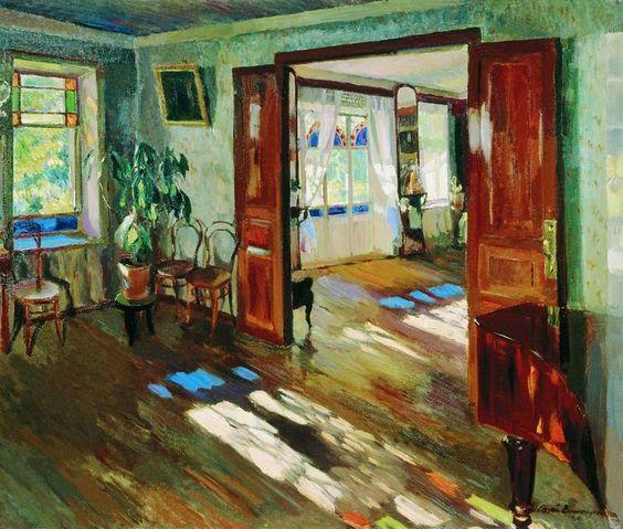 The Athenaeum - Interior (Sergei Arsenevich Vinogradov - ):
