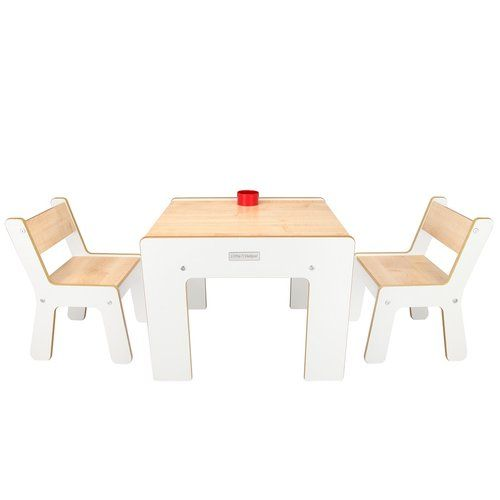 Marvelous Harriet Bee Maud Childrens 3 Piece Square Table And Chair Beatyapartments Chair Design Images Beatyapartmentscom