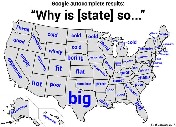 Hilariously Revealing US Maps You Wont Find In A Textbook - Funny maps of the us