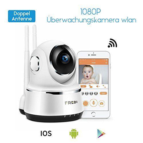 720P IP Kamera WLAN Überwachungskamera Baby Monitor 2 Wege Audio IR Nachtsicht