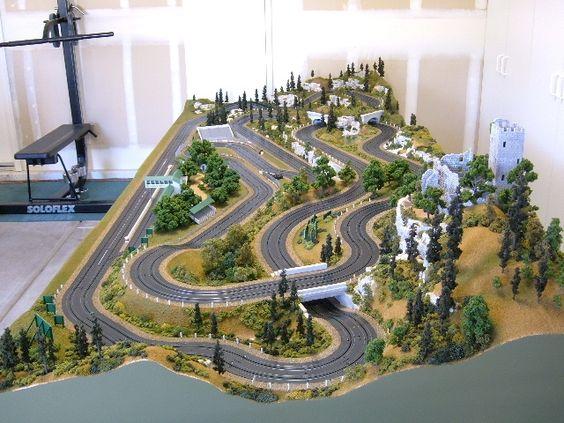 Custom HO Slot Cars - Tom Druckenmiller Track - trackhobbies.com