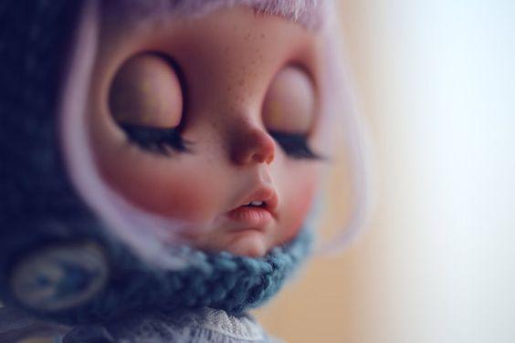 Reserved for C-layaway-Isla - Penguinbabydoll's OOAK Custom Blythe Doll