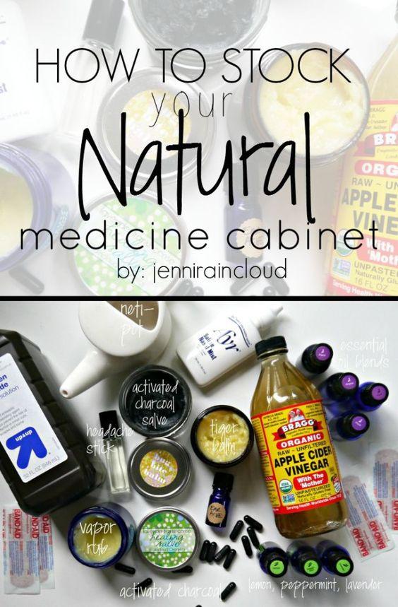 Medicine Cabinet Makeover-Ditch the toxic medicine-Naturals Work!