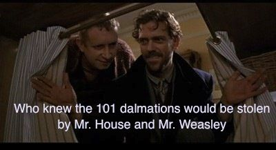 Harry Potter, House and 101 Dalmatians