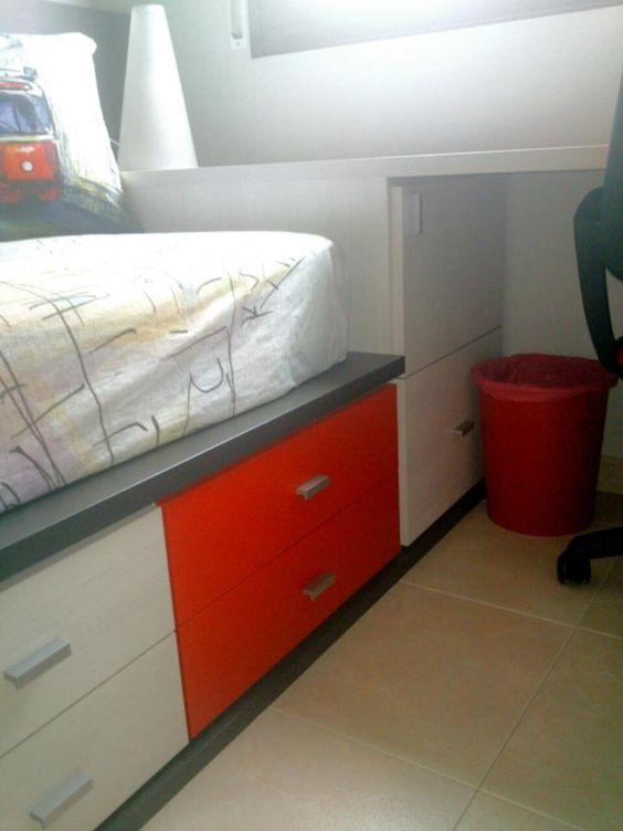 Detalles que te hacen ganar espacio #muebles #funcionales #amedida