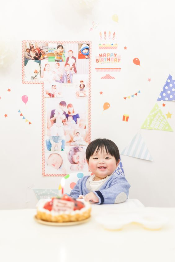 Happy 1st Birthday Mitsuki!!Wishing you a future filled with happiness.