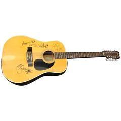 Autographed Rolling Stones Guitar