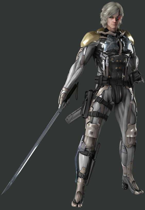 """Raiden from Platinum Games's """"Metal Gear Solid Rising"""""""