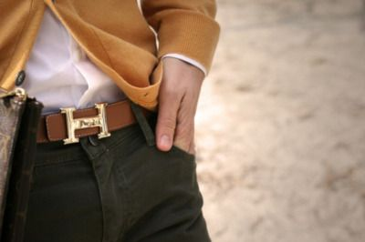 hermes belt - i need one in my life