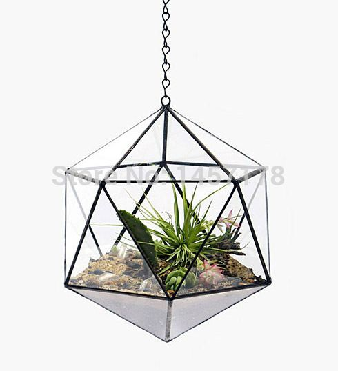 pas cher suspendu tetra suspendus terrarium planteur de. Black Bedroom Furniture Sets. Home Design Ideas