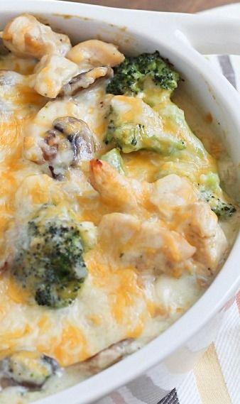 Check Out Skinny Chicken  Broccoli Casserole Its So -9746