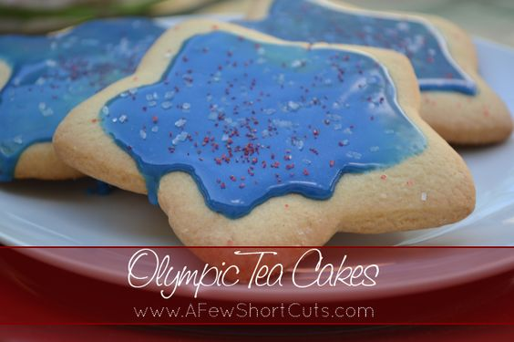 #Olympic tea cakes #Recipe