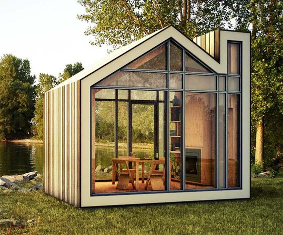 The Bunkie Prefabricated Retreat | DudeIWantThat.com
