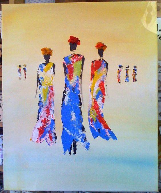 Tableau peinture acrylique au couteau recherche google peinture aquarel - Peinture acrylique tableau ...