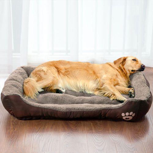 Pet Dog Bed Warming Dog House Soft Material Pet Nest Pet Dogs