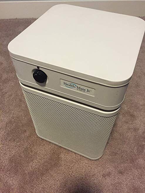 Austin Air Health Mate Jr Air Cleaner Sandstone Mobile Air Cleaner Review Air Cleaner Air Purifier Cleaners