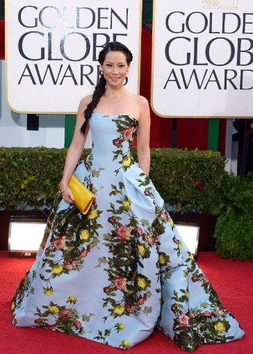 Lucy Liu bei den Golden Globes 2013. Foto: picture alliance / dpa