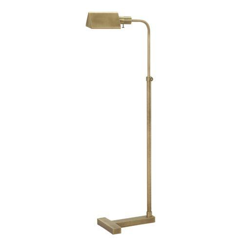 House Of Troy Fairfax Antique Brass One Light Floor Lamp F100 Ab Brass Floor Lamp Floor Lamp Pharmacy Floor Lamp