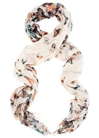 Warehouse printed scarf