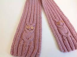 Resultado de imagen para bufandas a palillos