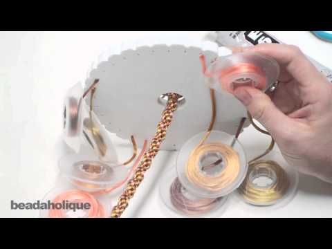 How to Make a Simple 8-Warp Kumihimo Braid Bracelet