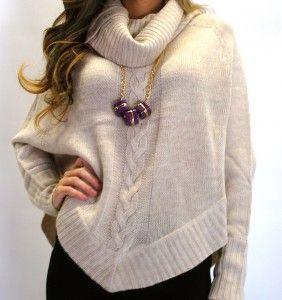 Geometric Knit Sweater, $68 919-699-6506