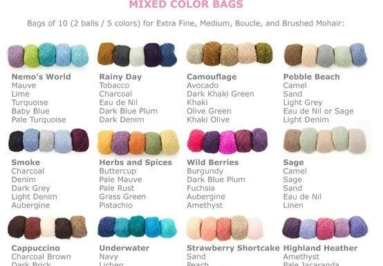 Yarn Color Combinations Yarn Color Combinations Colours That