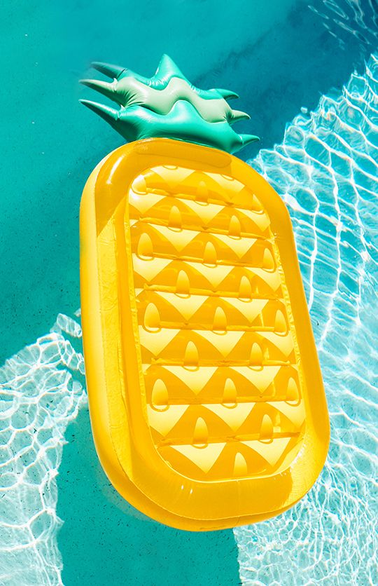 Pineapple Luxe Lie-On Float Inflatable