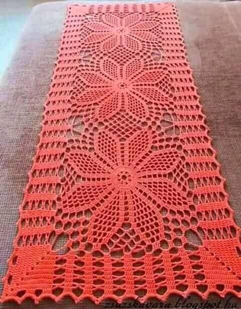 Modelos de tapetes a crochet