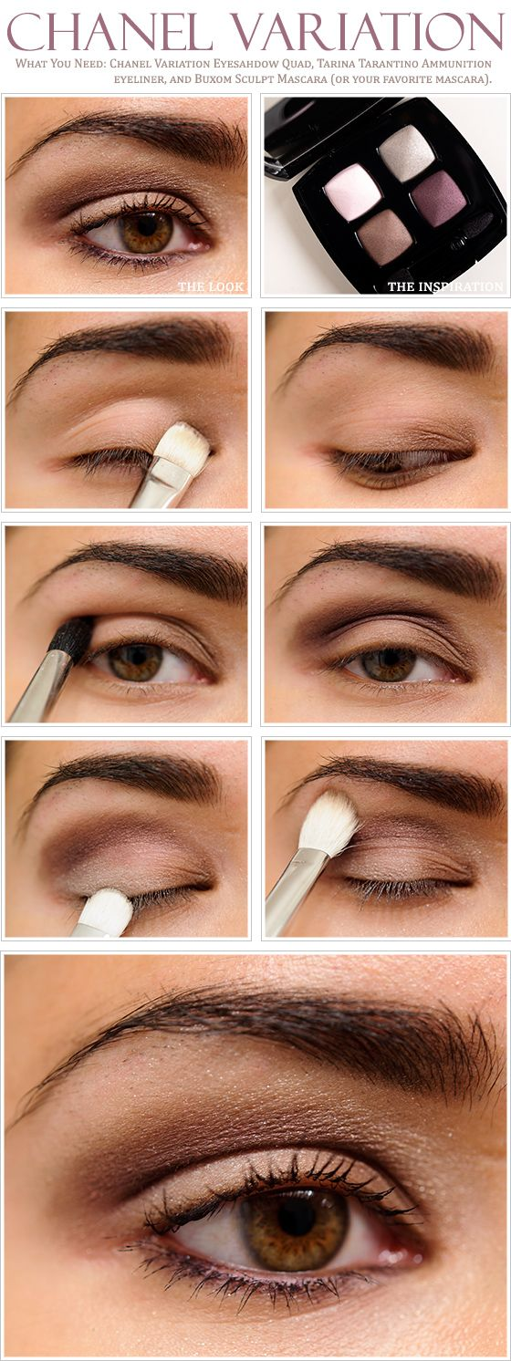 How To Apply Eyeshadow Chanel