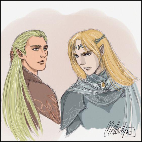 Haldir and Glorfindel by MellorianJ on DeviantArt