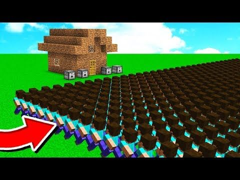 1 000 Fans Vs Worlds Worst Minecraft House Youtube Minecraft Houses Minecraft World