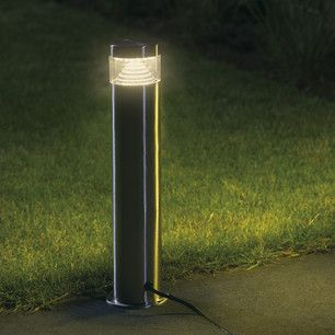 Warm White LED Garden Post Bollard Light 30cm By Lumineo LED