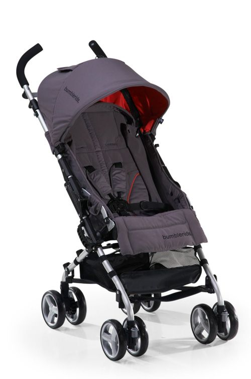 Bumbleride Flite in Fog. Great umbrella stroller that fully ...