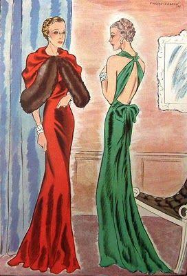 1940 evening dresses - Google Search  My Closet  Pinterest ...