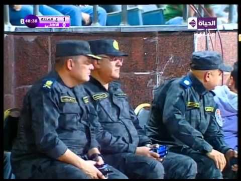 اهداف مباراة غزل المحلة VS الاهلى 1 / 1 ... الدورى المصرى 2015 / 2016