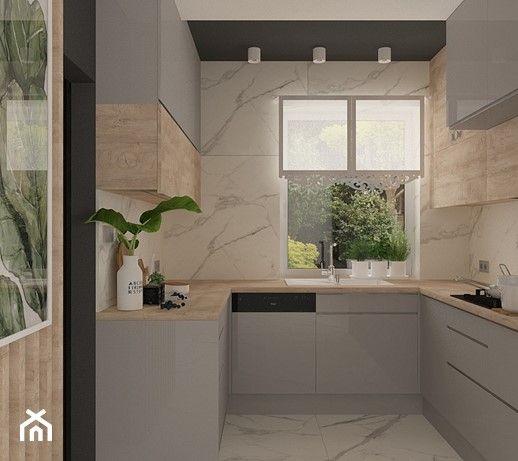 Aranzacje Wnetrz Kuchnia Kuchnia W Domu Jednorodzinnym Motif Design Przeglad Kitchen Decor Apartment Kitchen Interior Design Modern Modern Kitchen Design