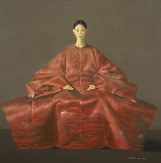 Zantman Art Galleries Lu Jianjun Xiao Gong Nu (original)