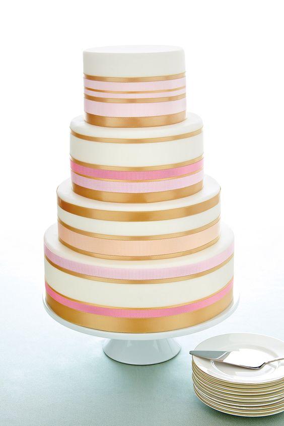 Cake Of Ribbons