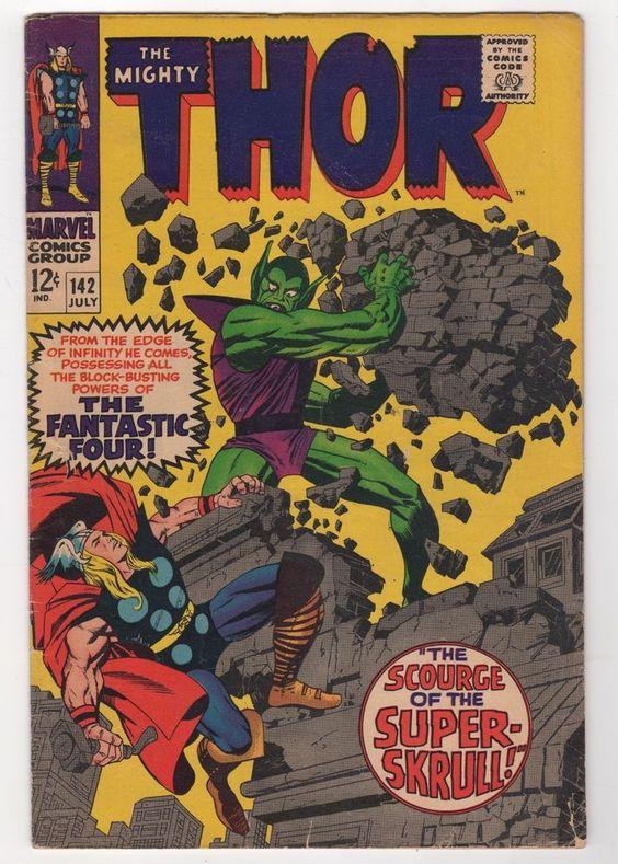Thor 142 1967 Marvel Comics G VG   eBay