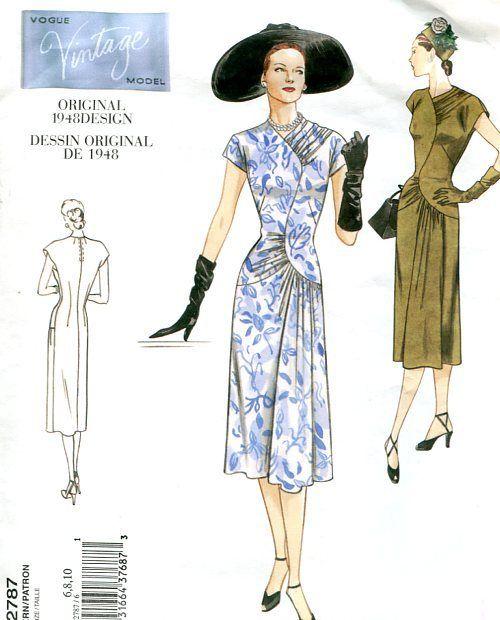 vogue2787 1940 vintage