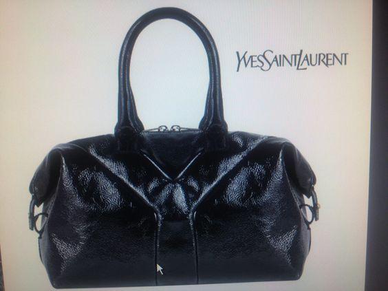 ysl easy in black patent