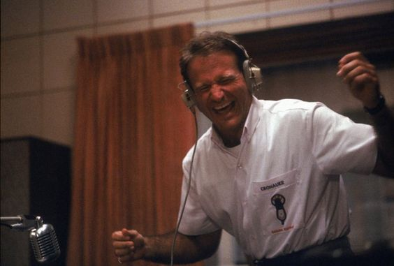 Pin for Later: The 12 Robin Williams Roles We'll Never Forget Good Morning, Vietnam (1987)