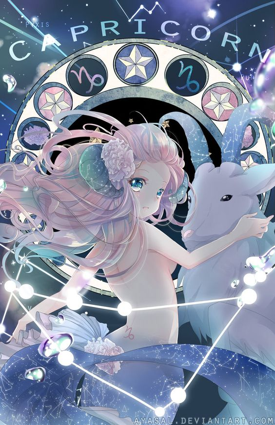 Capricorn [Zodiacal Constellations] by Ayasal: