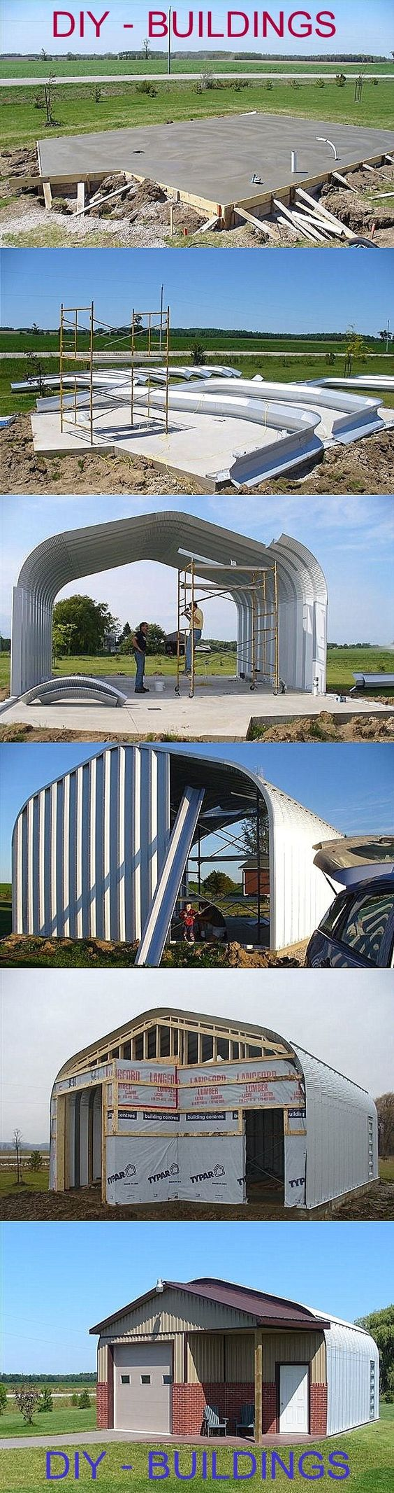 Building, garages and metal buildings on pinterest